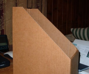 Homemade Cardboard Magazine Box