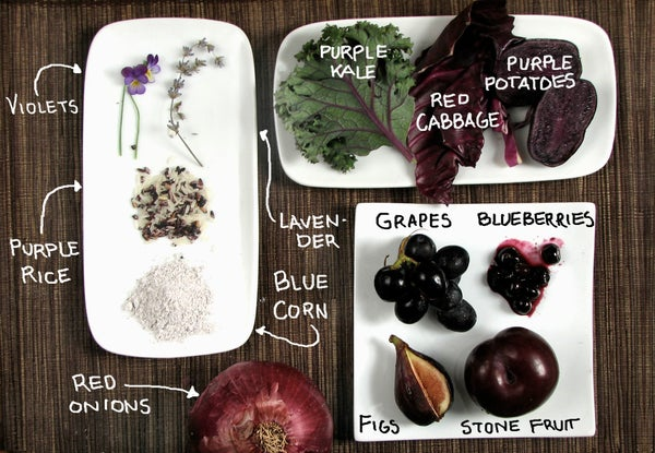 Purple Foods! Colorful Cooking Without Artificial Dyes.