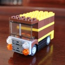 How to build a UPS Truck using LEGO