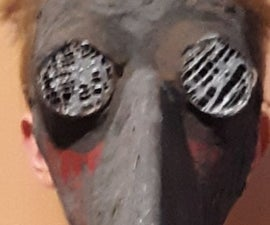 How to Make a Plague Doctor Mask With Paper Mache