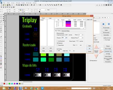 Bitmap Settings
