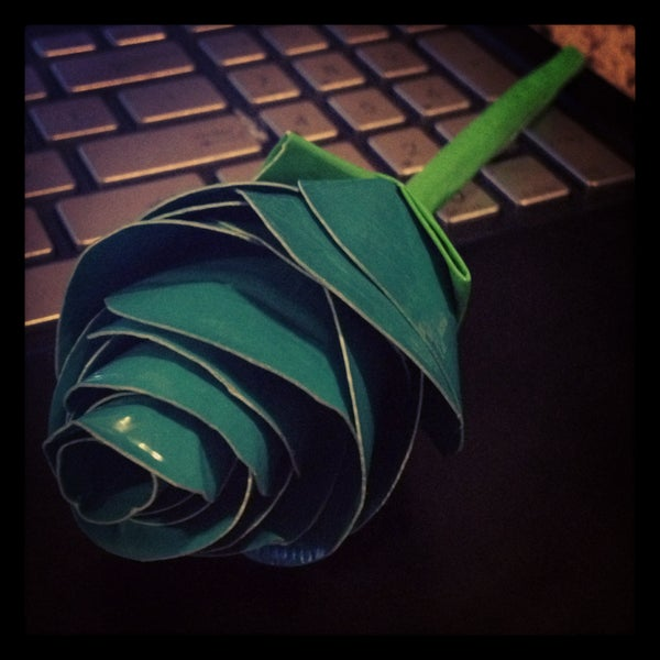 How to Make a Duck Tape Rose