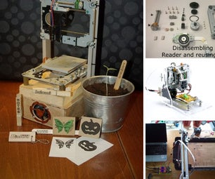 Things to Build Out of CD/DVD-Drives
