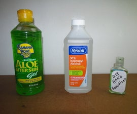 DIY Hand Sanitizer for COVID-19