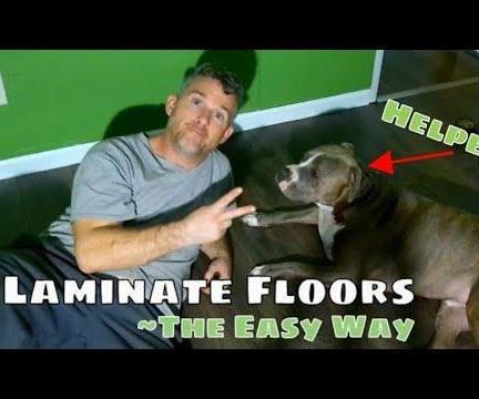 DIY Laminate Flooring the Easy Way