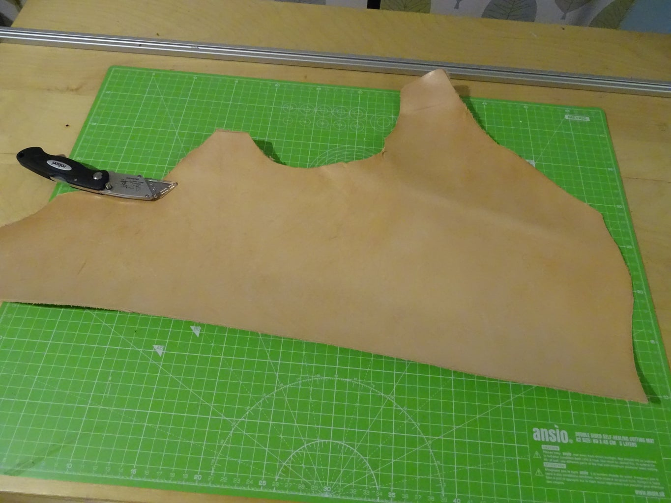 Cut a Strip of Leather