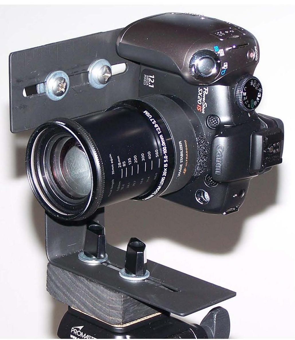 Panoramic Tripod Bracket & Macro Slider (Universal Mod Added)
