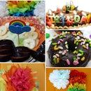 Kid's Grand Rainbow Party Idea at Home