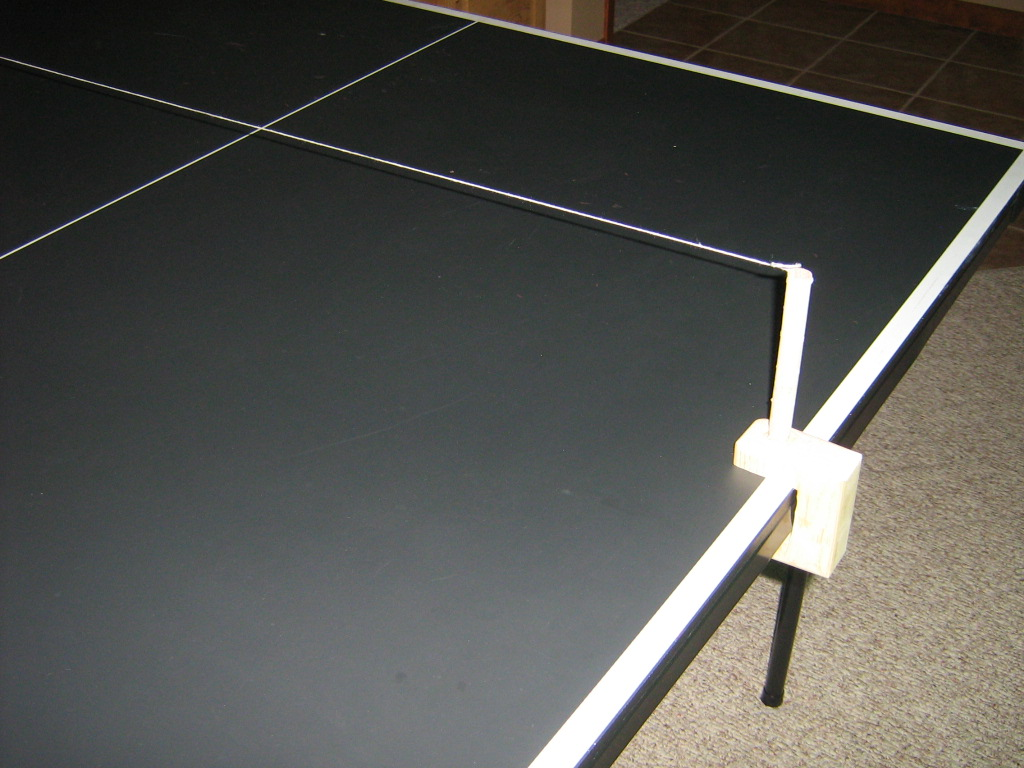 Make a Ping Pong Net for Any Table, Anywhere