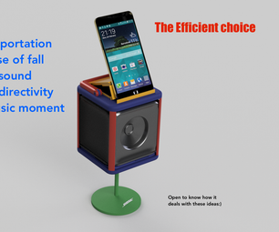 Bose Challenge - Audio Speaker Container - the Efficient Choice