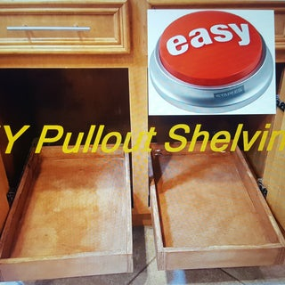 Pull-Out Drawers for Cabinets