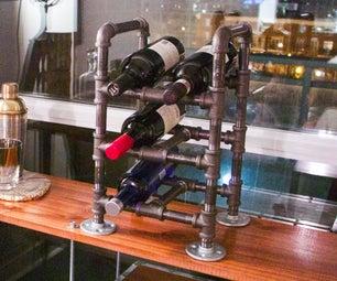 Diesel Punk Wine Rack