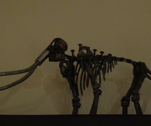Hardware Mammoth Skeleton