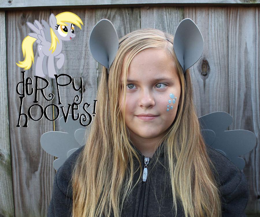 Simple My Little Pony Derpy Costume!