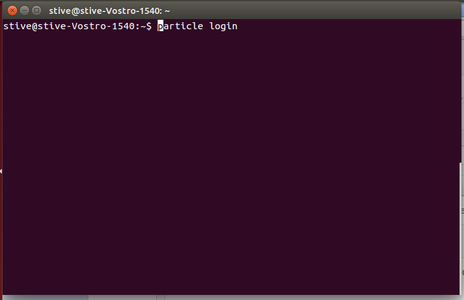 Installing Particle CLI