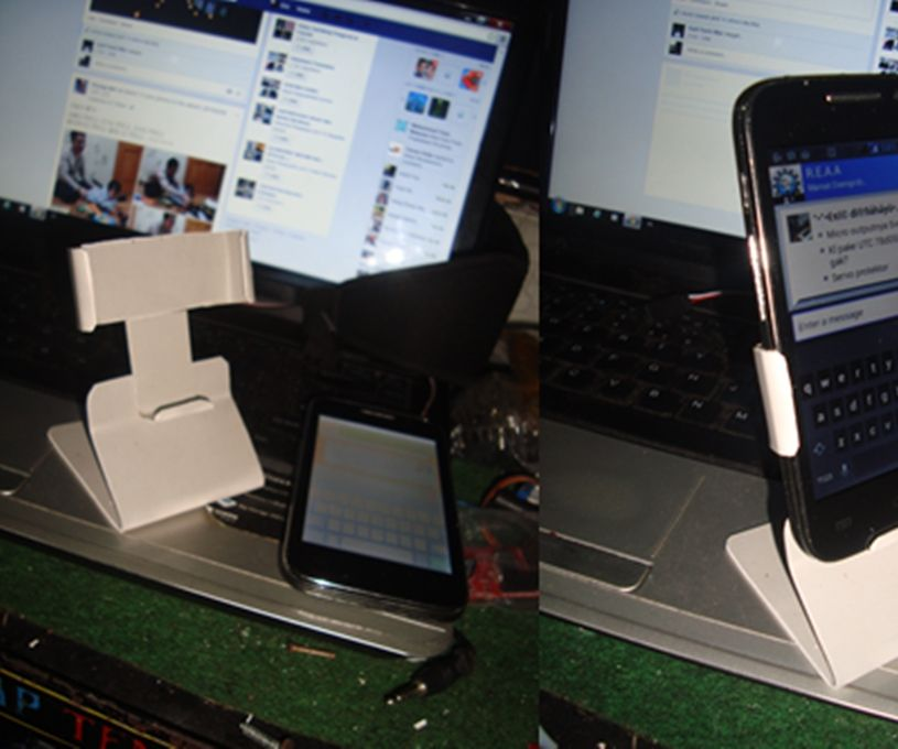 how to make phone holder from Pvc Water Pipe