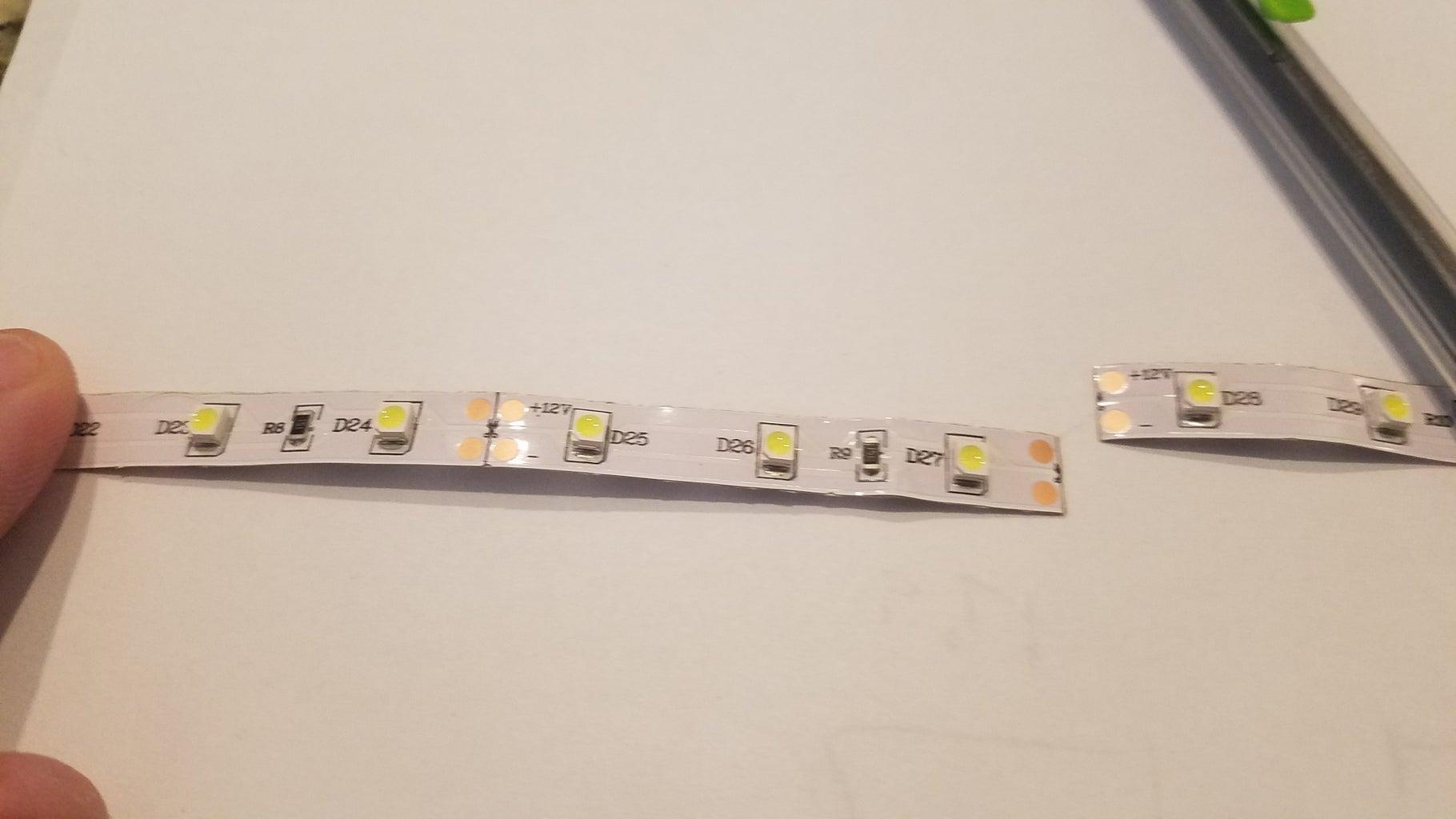 LED Light Strips - Tool Chest So Bright I Gotta Wear Shades