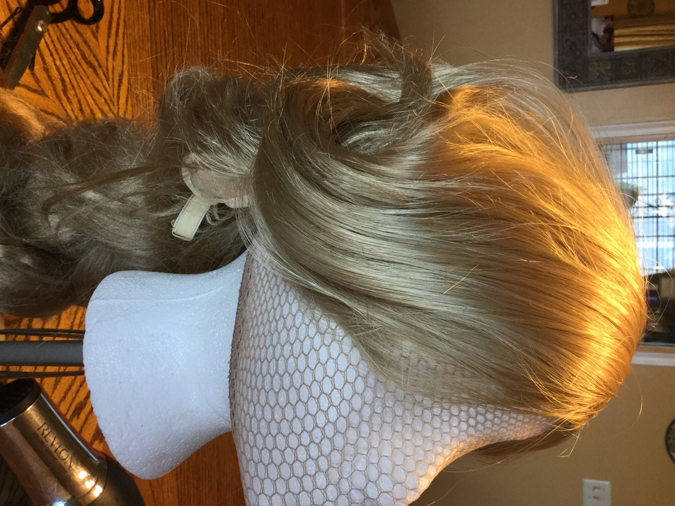 Styling the Top of the Wig(braids,bangs)