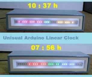 DIY Unusual Arduino Linear Clock