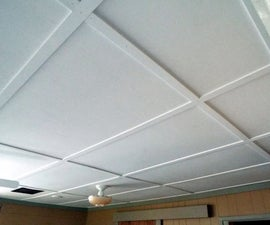 Plywood Ceiling; Greater Than the Sum of Its Parts!