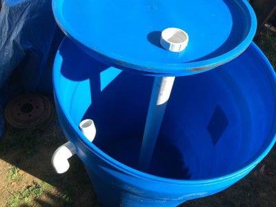 Add the Drain Valve and Overflow Tube to the Digester