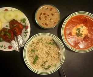 Butter Chicken (Tandoori) & Dates Rice Pudding