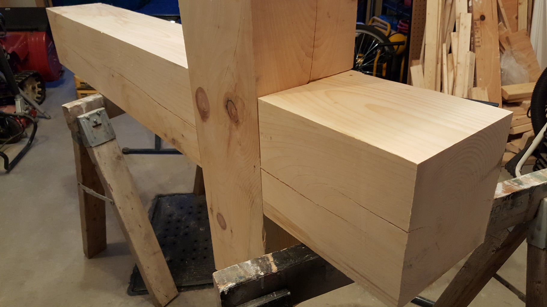 Assembly of the 2 Posts