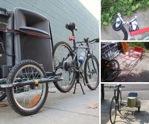 How to Build a Bike Trailer