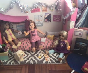 DIY Doll Clubhouse