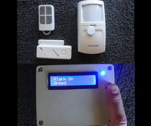 Arduino无线报警系统使用现有的传感器