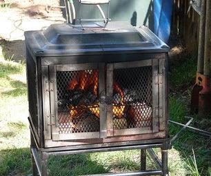 Wood Burning Pool Heater