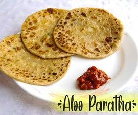 Aloo Paratha(印度扁面包)