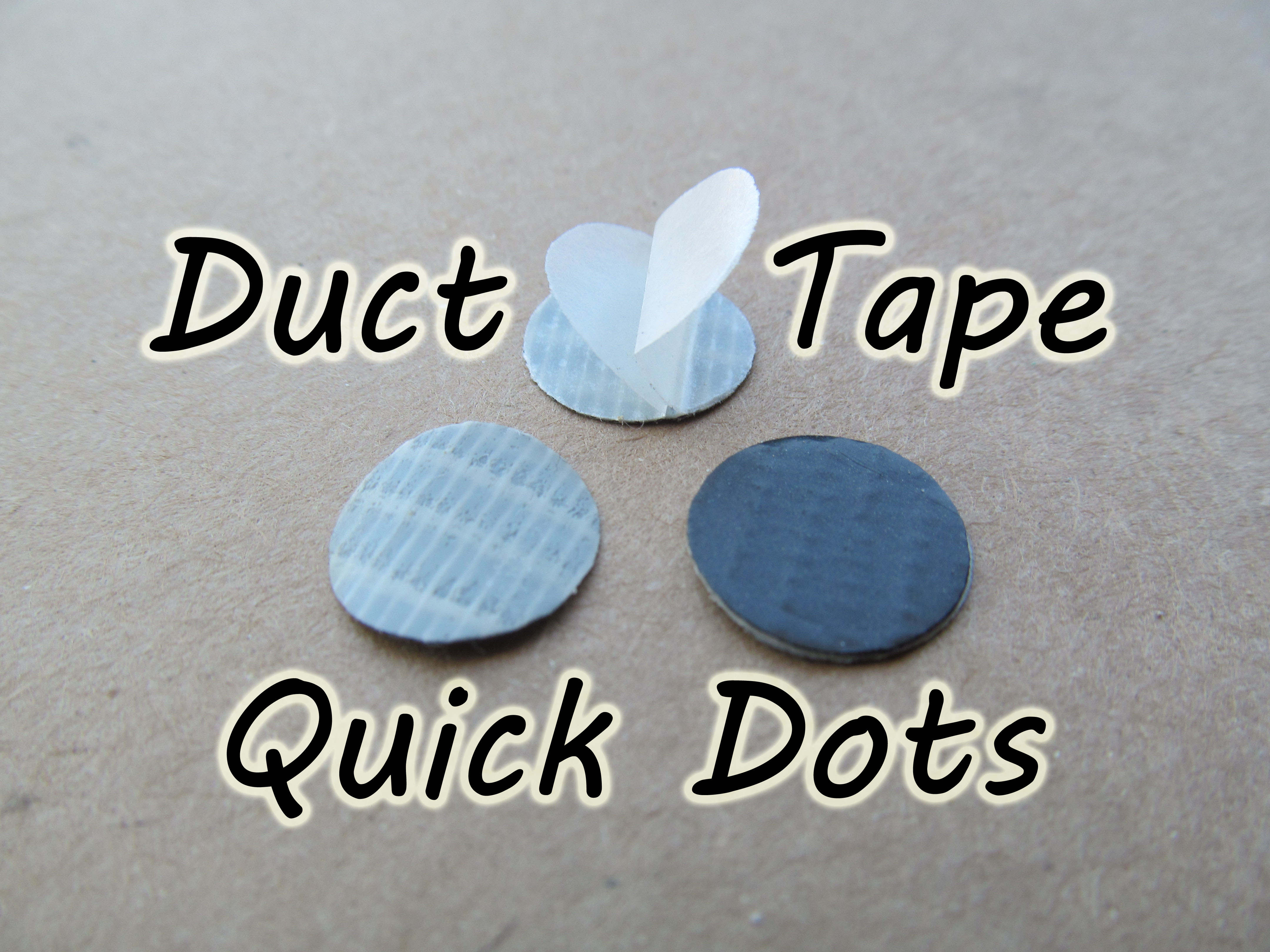Duct Tape Quick Dots