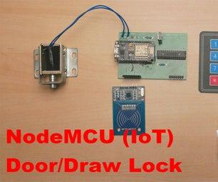 NodeMCU (IoT) RFID Door/Draw Lock