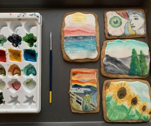 Artist Watercolor Cookies