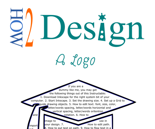 10 Steps to Your Own Logo in Inkscape (free) and Using Creative Market for Dummies Like Me