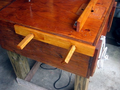 Small Wood Vise