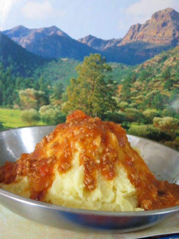 Potato Volcano