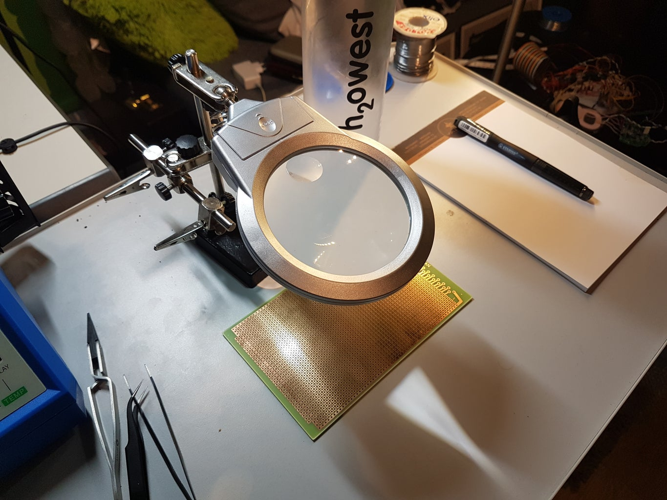 Soldering Components Onto a Pcb