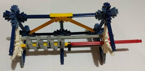 Attaching the Piston Shaft