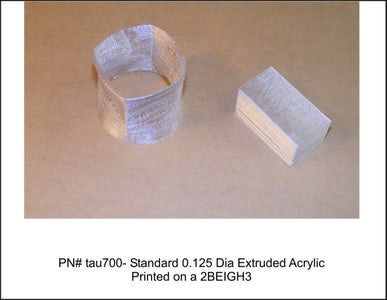 Current List of Materials That Can Be Printed on a 2BEIGH3