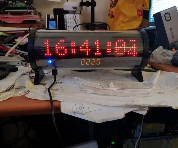 NTP Synchronized Alarm Clock