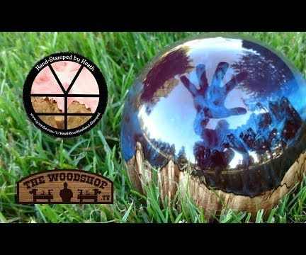 Maple Burl and Resin Paper Weight