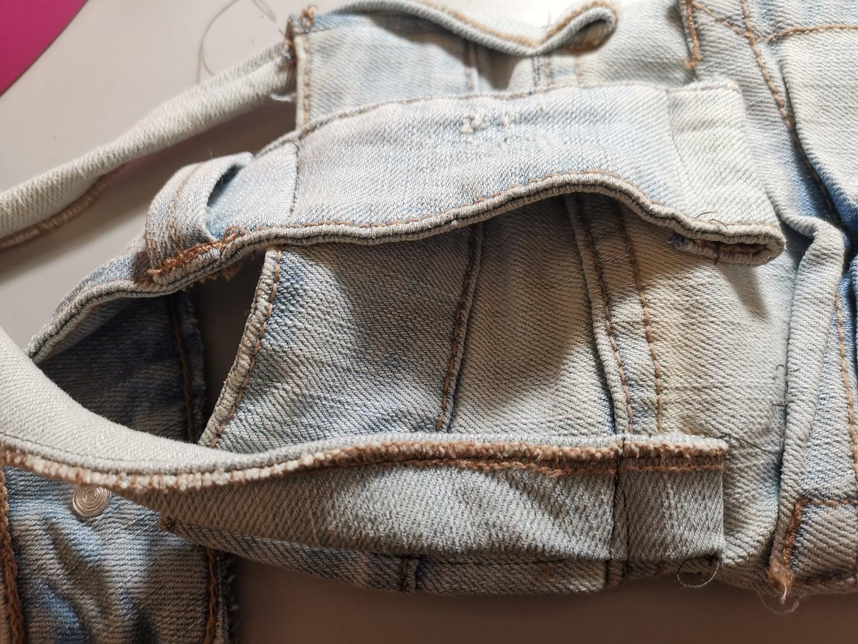 Sewing the Shoulder Strap