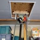 Attic Elevator Using Garage Door Opener
