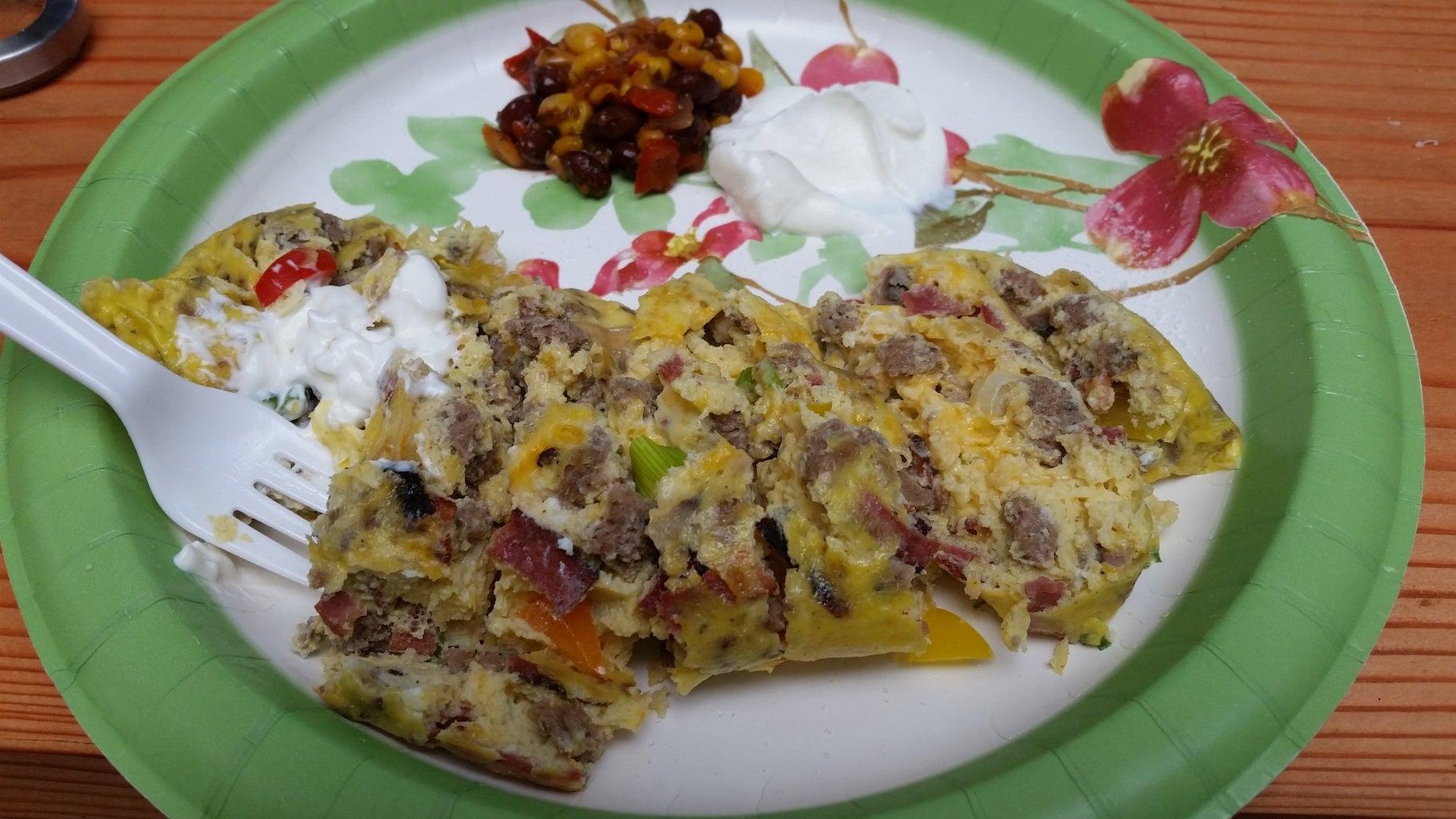Omelette Sou Vide ...... A.K.A. Camping Bag Omelets