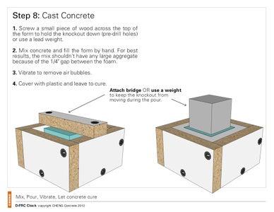 Mix + Pour Concrete