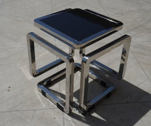 Infinity Cube Table