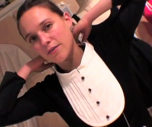 How to Make a Tuxedo Bib