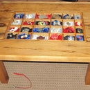 """Shadow Box"" - Trinket Display Table"